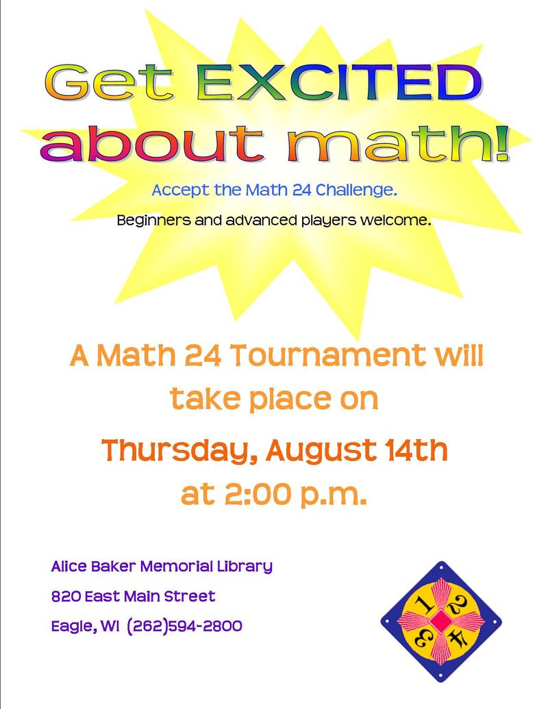 Math24 tournament