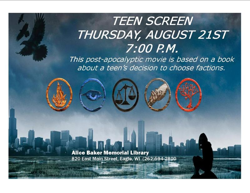 Divergent teen screen