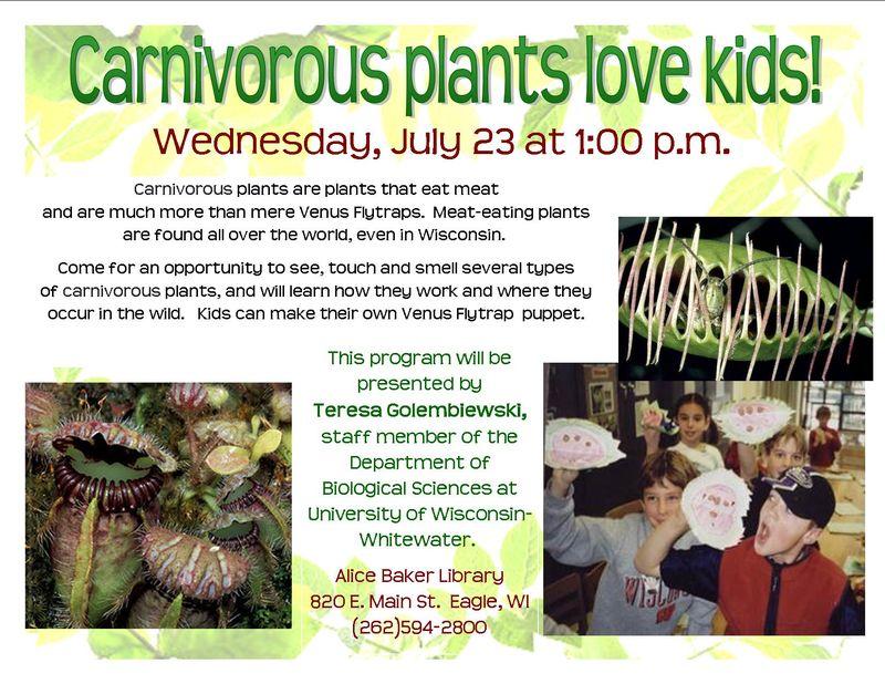 Carnivourous plants