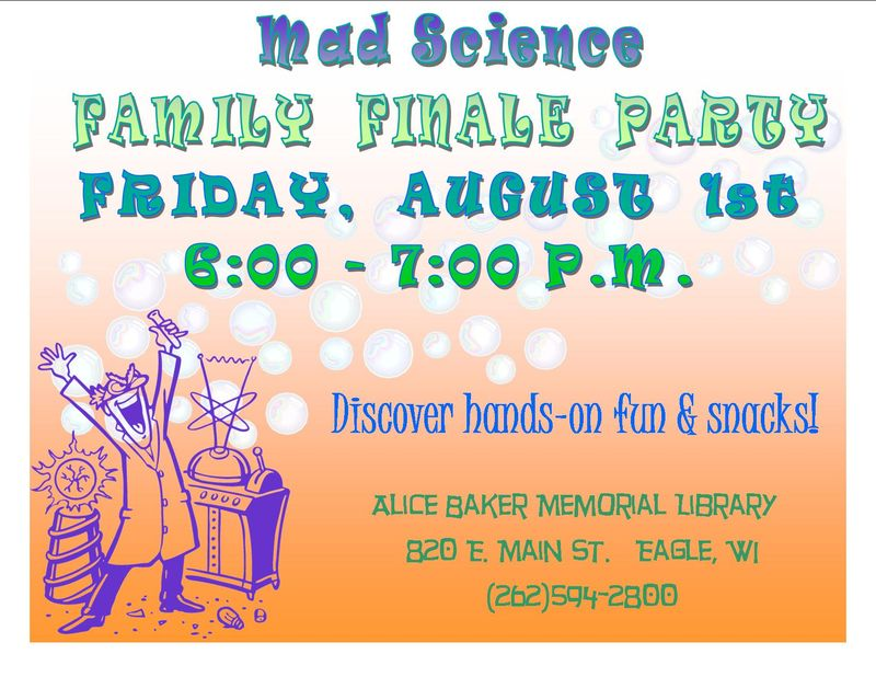 Mad science family finale