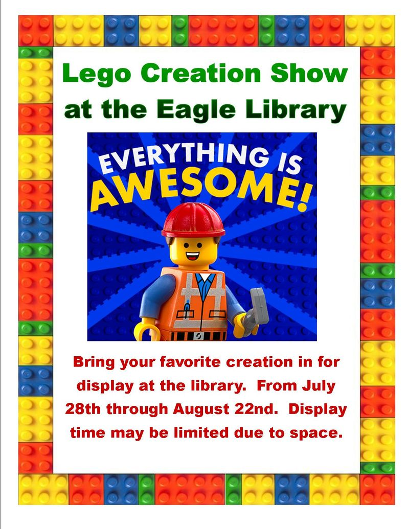 Lego creation show