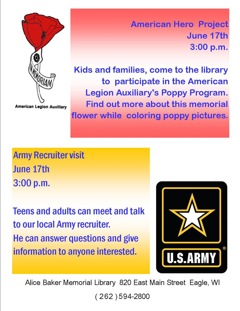 American hero project army visit