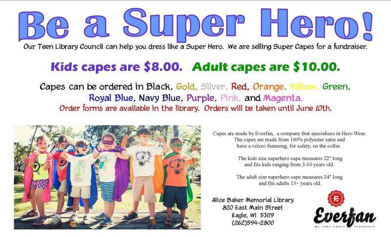TLC cape sale fundraiser