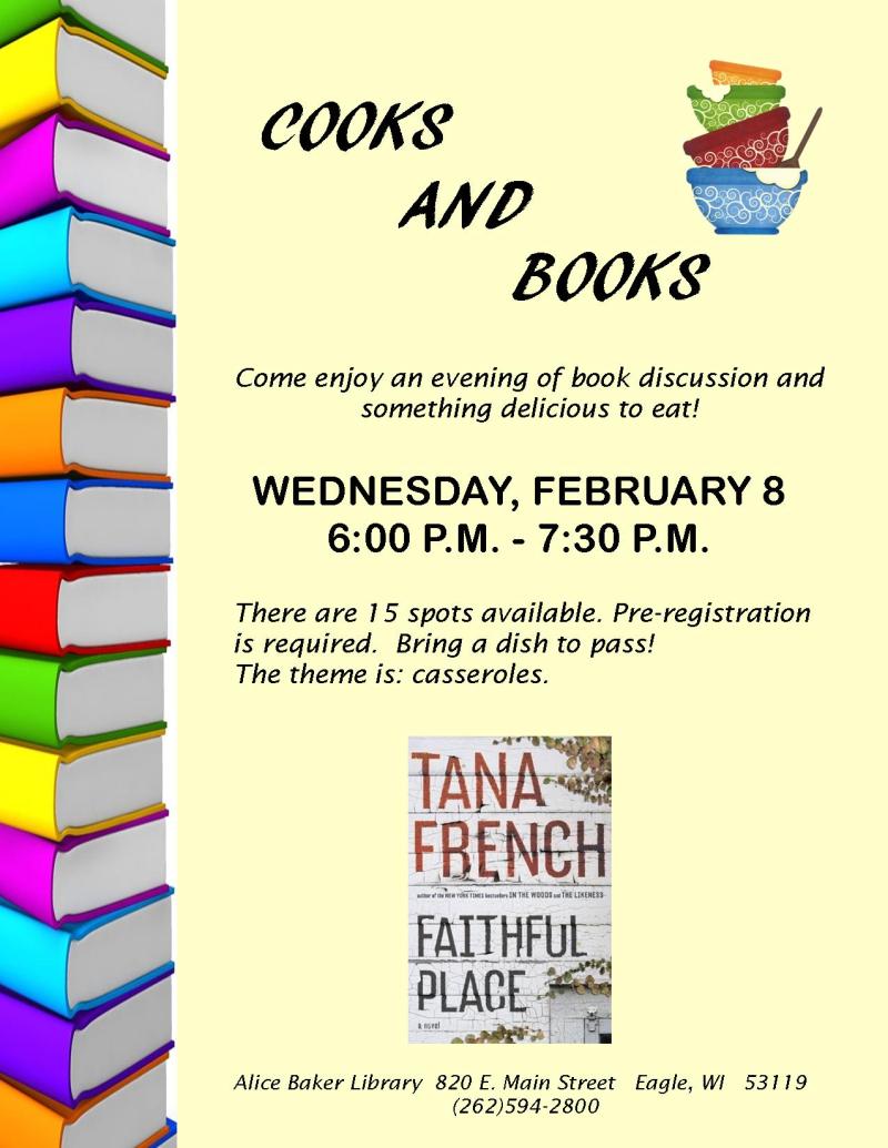 Cooks and Books - Faithful Place