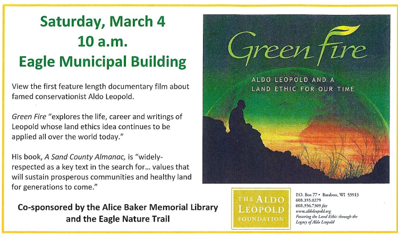 Green Fire Screening and Discussion
