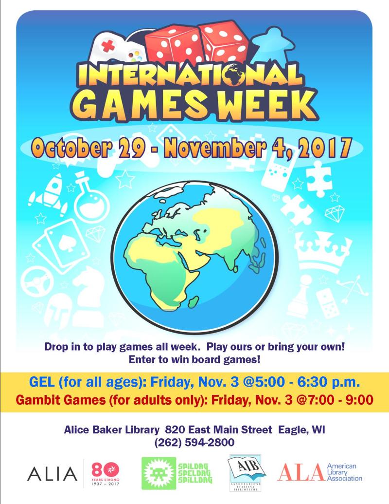 INTERNATIONAL GAMES week 17