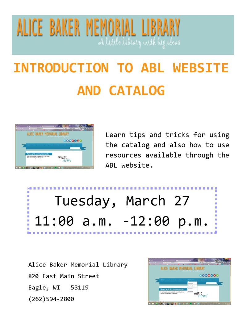Intro to ABL MAR