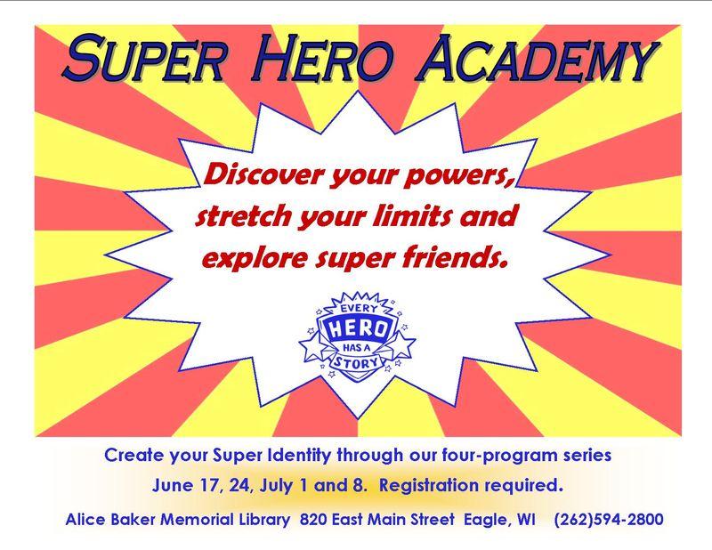 Super hero academy
