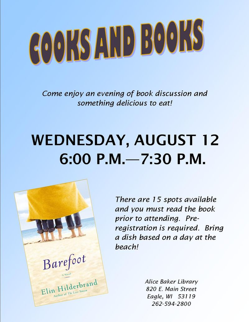 Cooks and Books_Barefoot