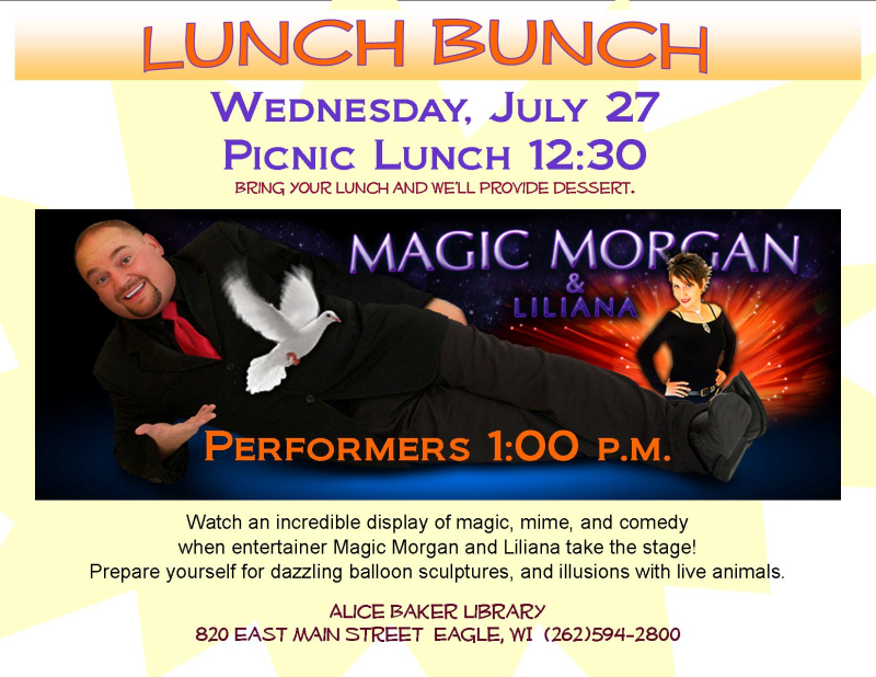 Lunch bunch magic morgan