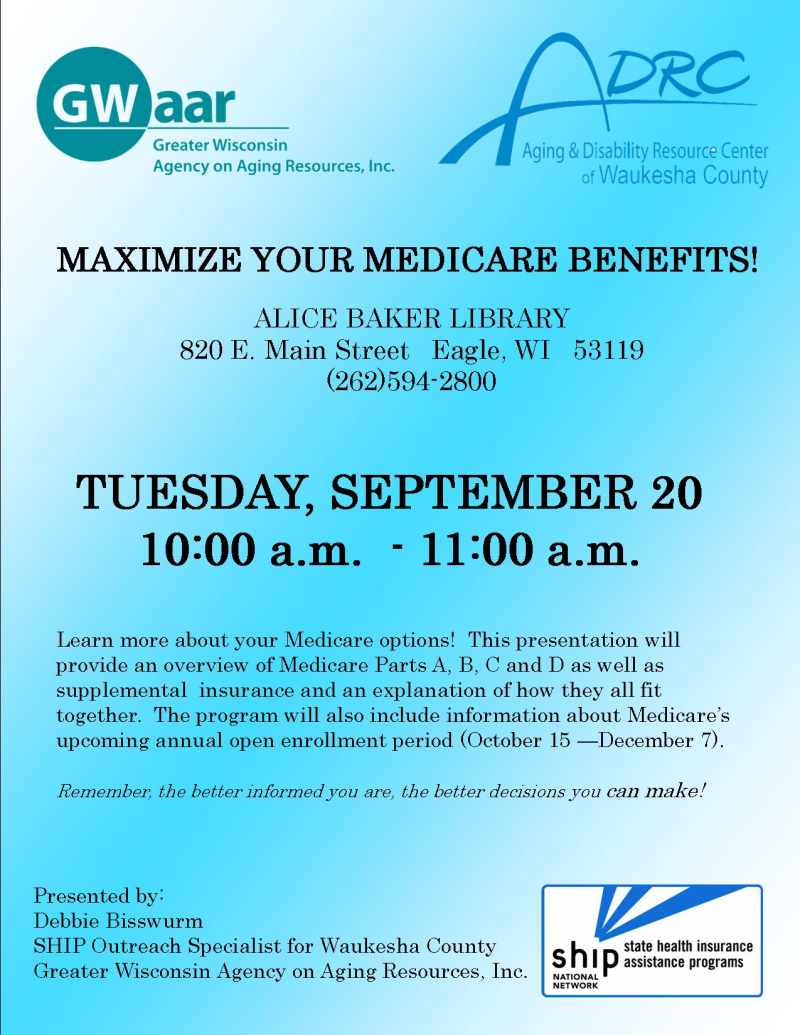 Medicare Benefits 2016