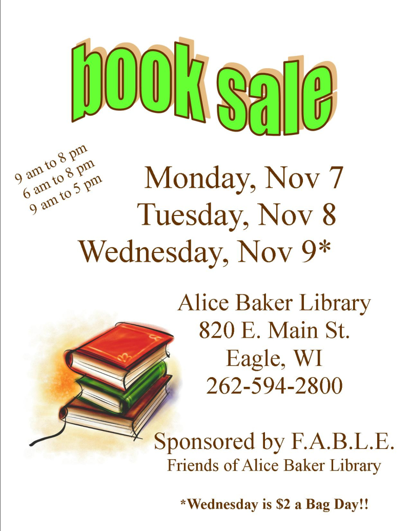 Book Sale Fall 16