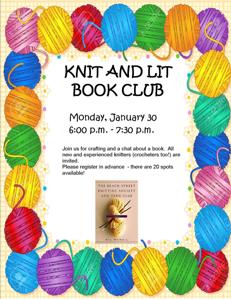 Knit and Lit January 2017