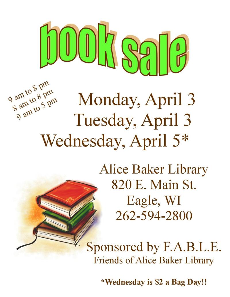 Book Sale Spring 17