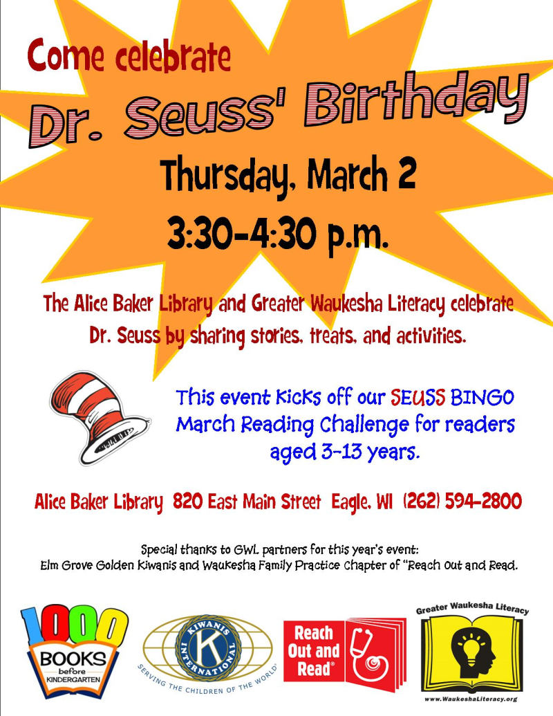 Seuss event