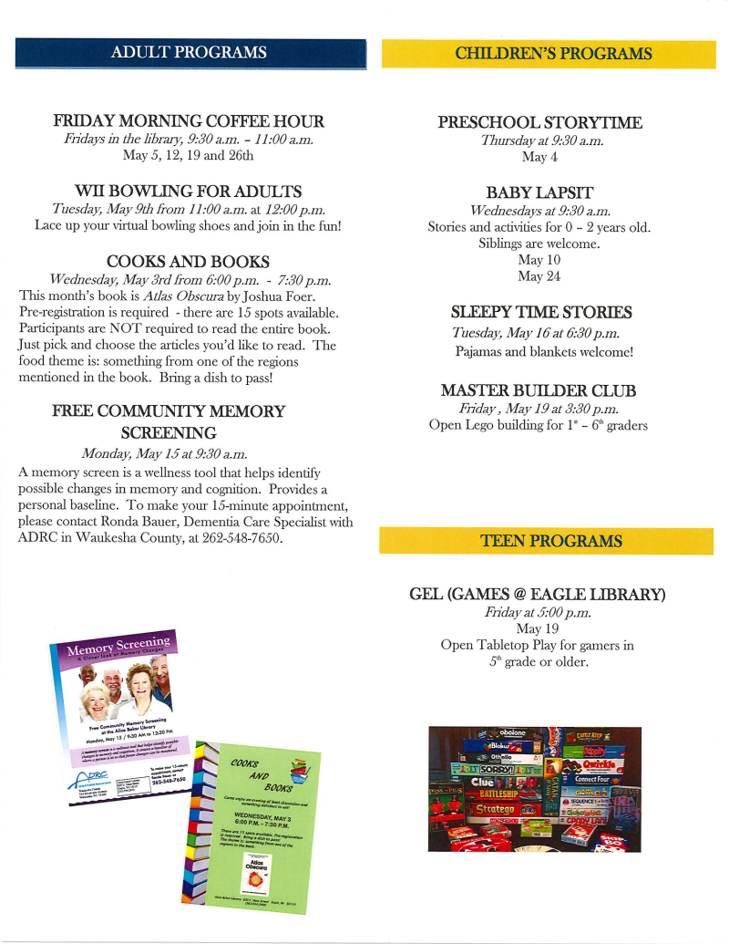 May 2017 library newsletter page 2