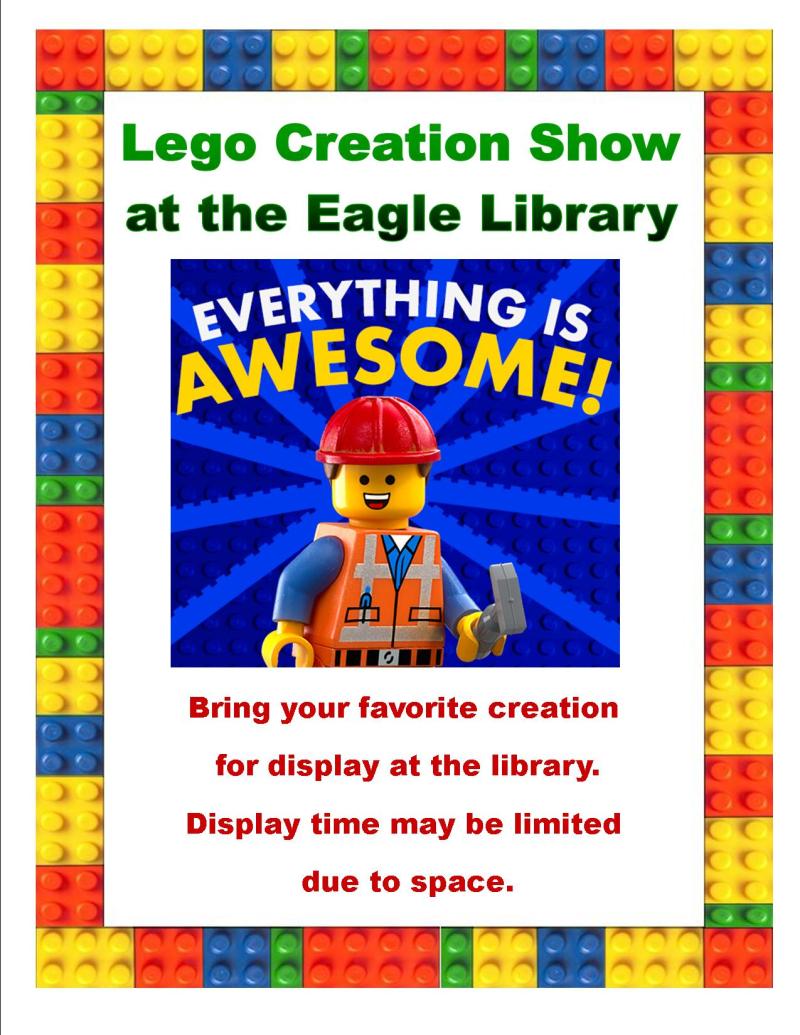 Lego creation show