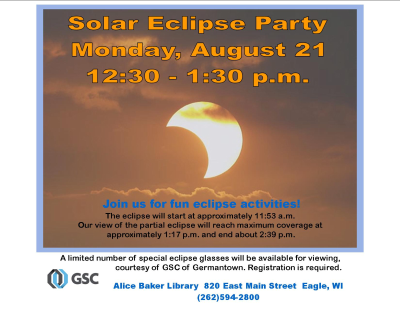 Solar Eclipse party