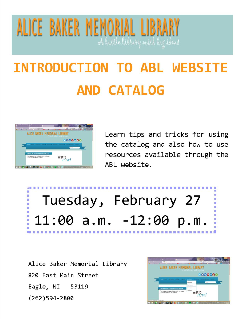 Intro to ABL FEB