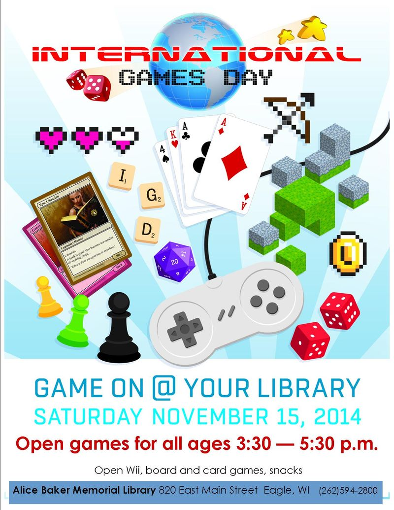 National gaming at your library 2014