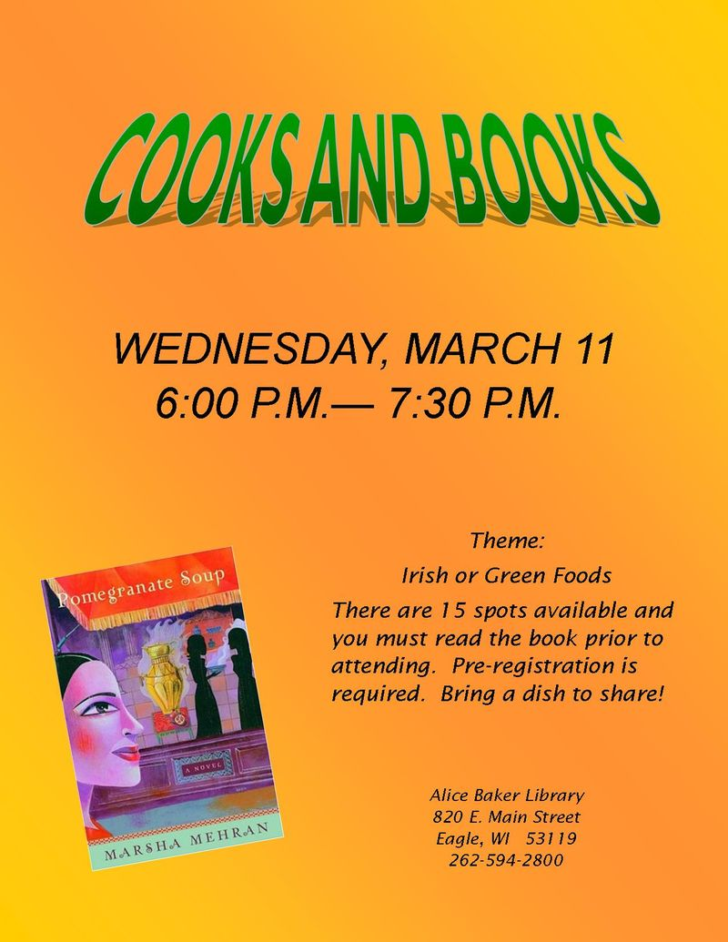 Cooks and Books_Pomegranate