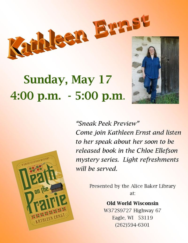 Death on the Prairie _ Kathleen Ernst