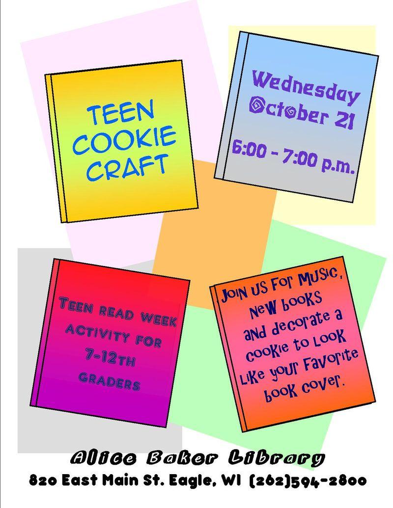 Teen cookie craft