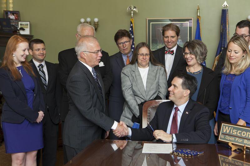 SB 265 Bill Signing Sen. Nass