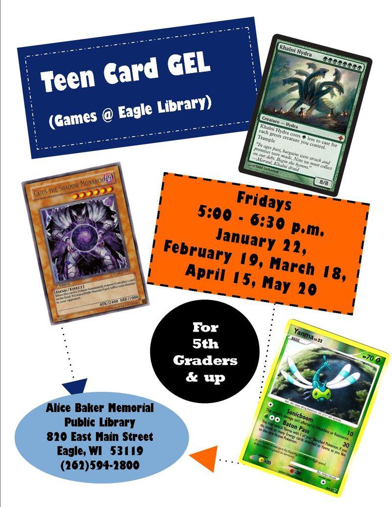 Teen card gel winter 16