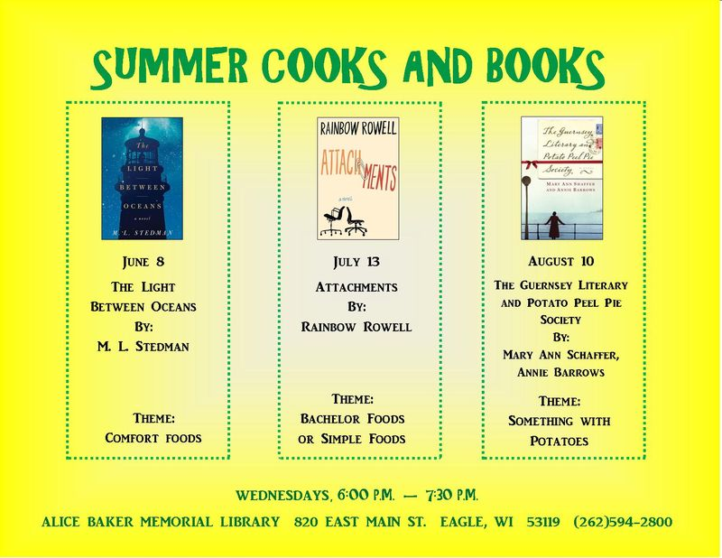 Summer Cooks and Books 2016
