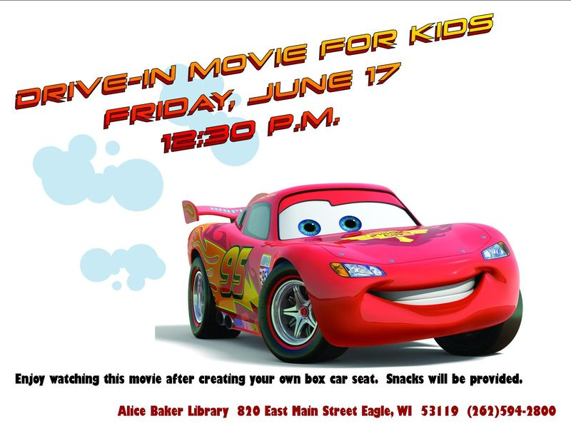 Drive in cars