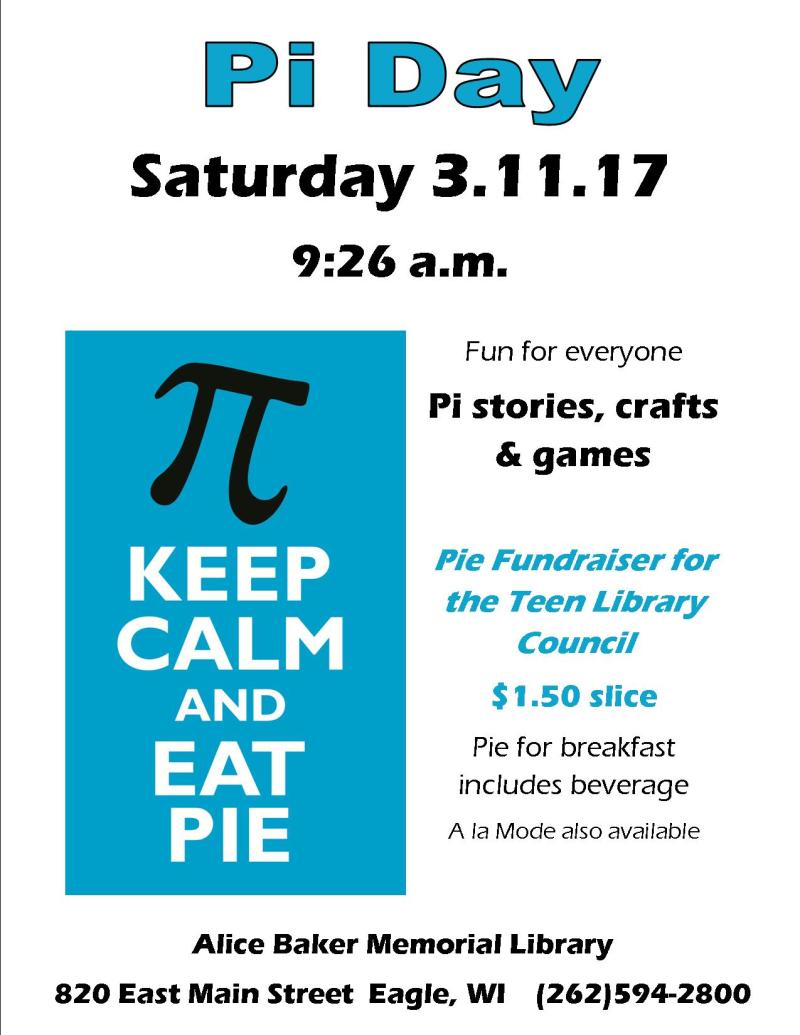 Pi day 3.11.17