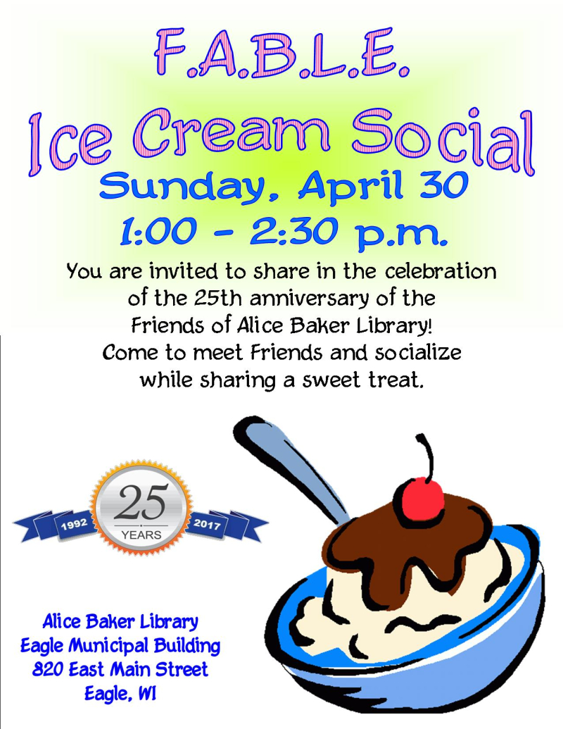 Fable ICE CREAM SOCIAL