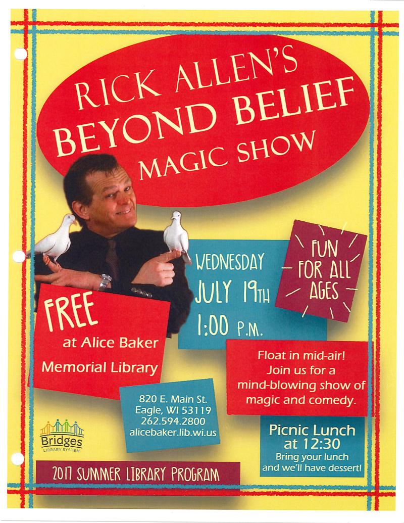 Rick Allen's Beyond Belief Magic Show