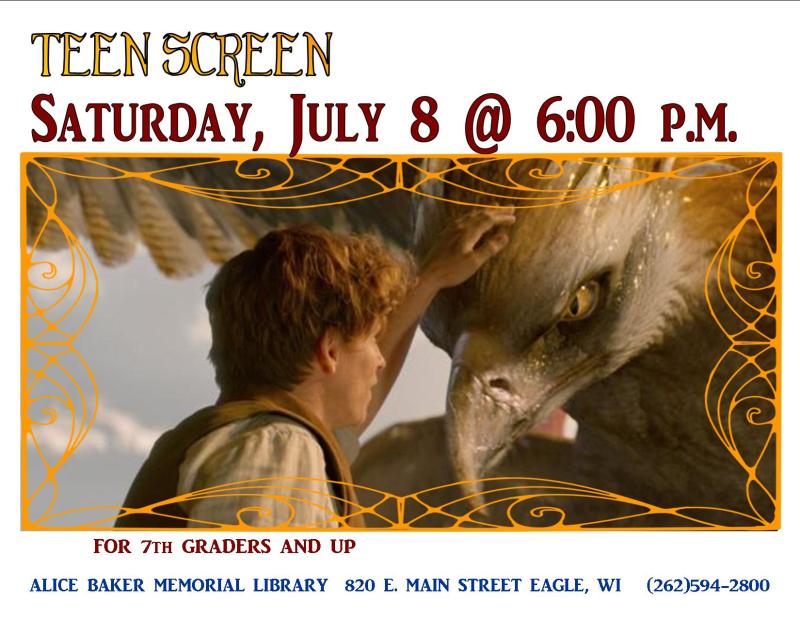 Teen screen july