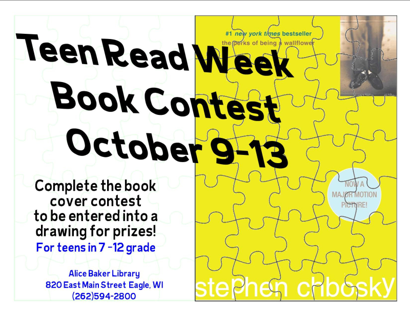 Teen read week book contest