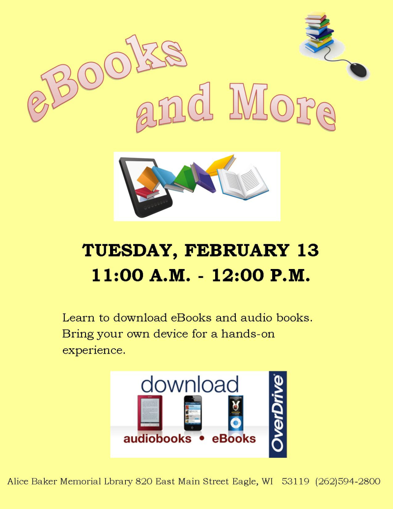 EBooks and More FEB