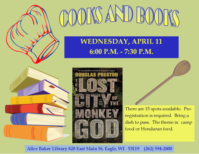 Cooks and Books Lost City