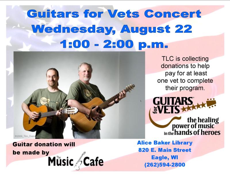 Guitars for vets concert