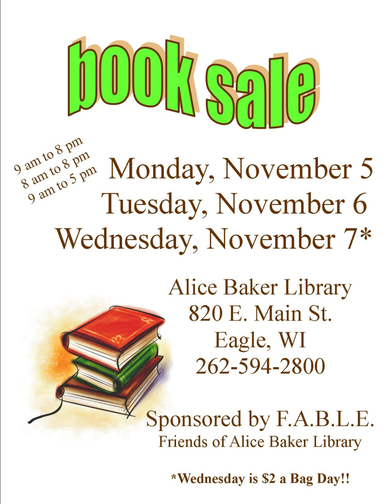 Book Sale Fall 2018