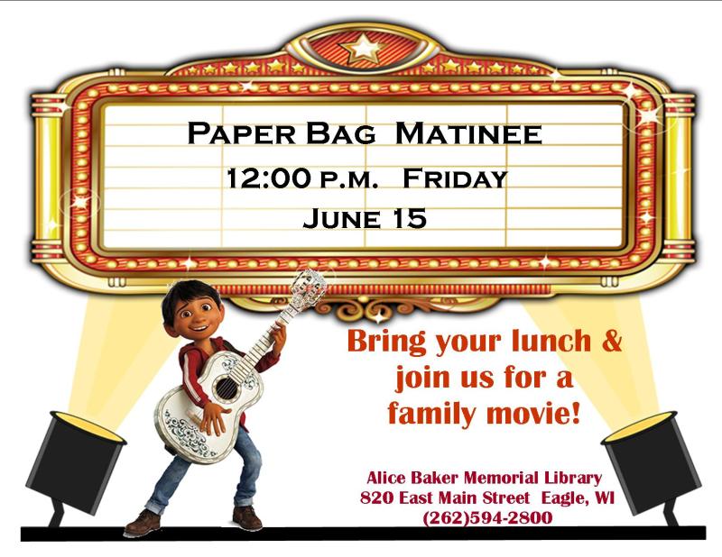 Paper bag matinee june