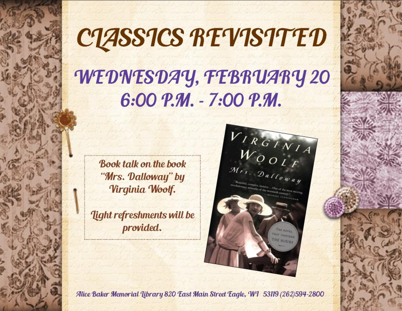 Classics Revisited - Mrs. Dalloway