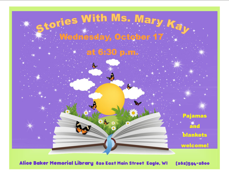 Stories with Mary Kay oct