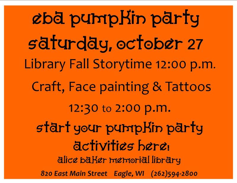 Pumpkin party 18