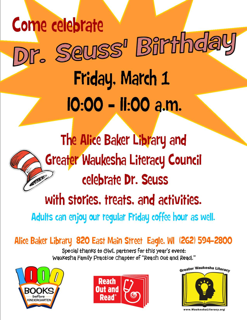Seuss event 2