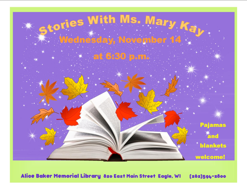 Stories with Mary Kay NOV
