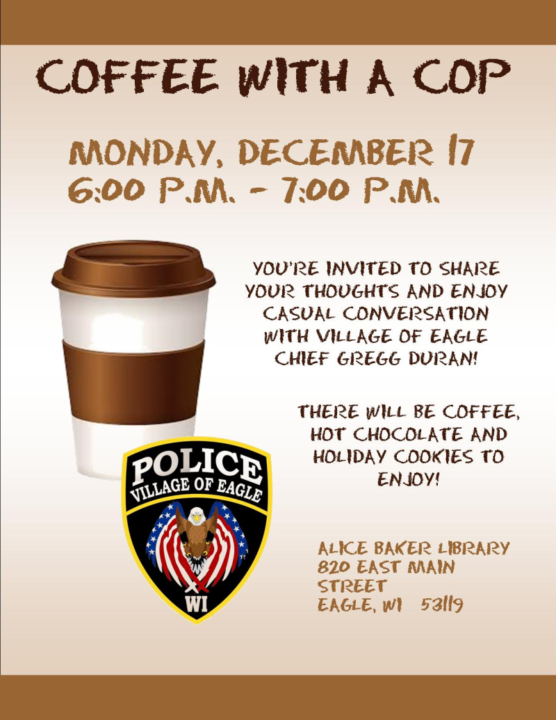 Coffee with chief duran DEC 17 2018