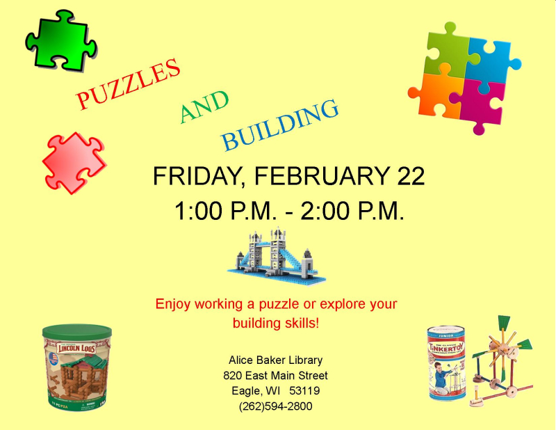 Puzzle Building FEB 2019