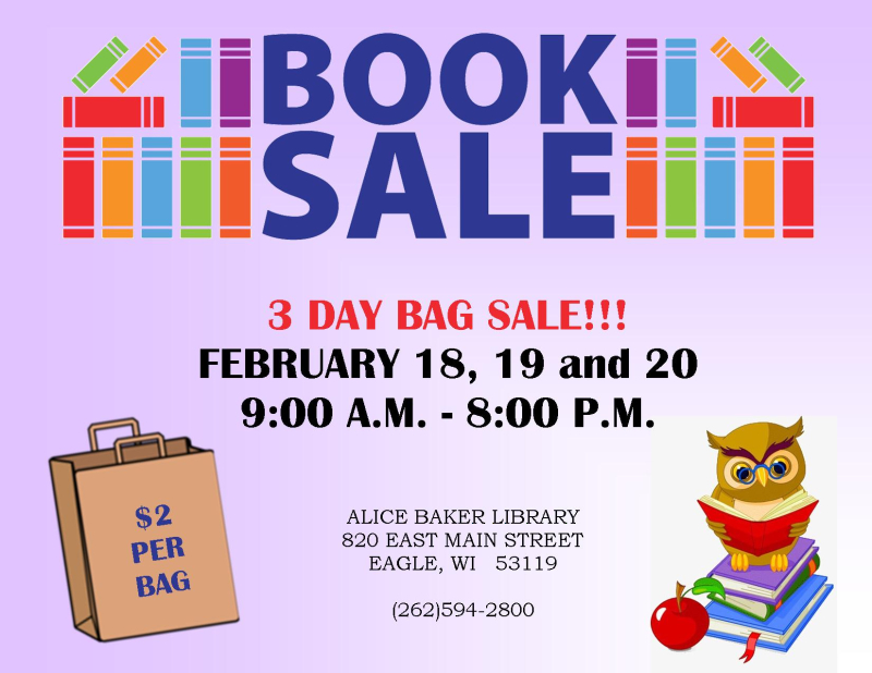 3 DAY BOOK SALE