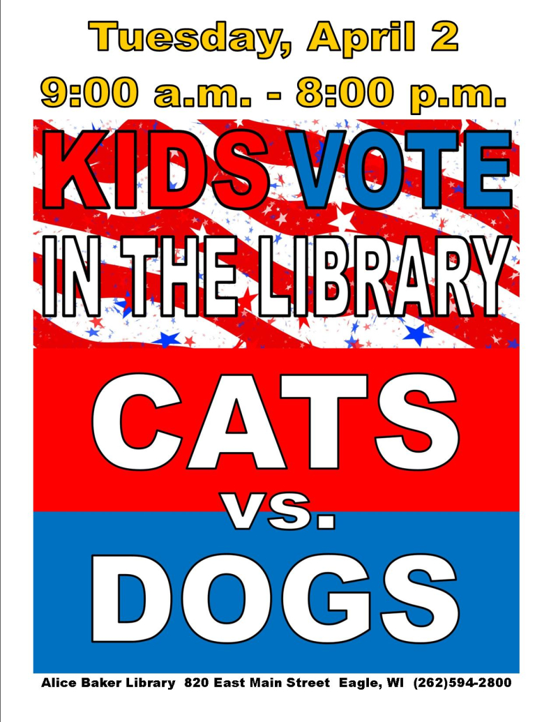 Vote cats vs dogs